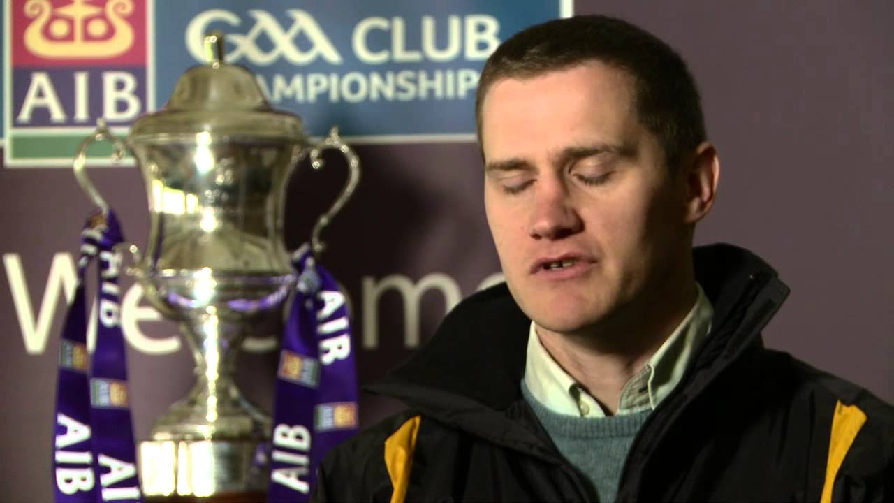 John McEntee talks about winning the AlB All Ireland Club ...