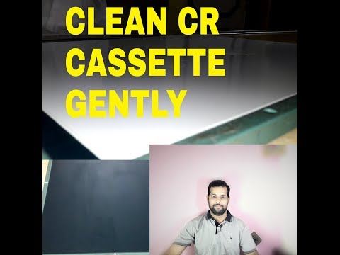 HOW TO CLEAN DIGITAL XRAY CASSETTE,PART - 127