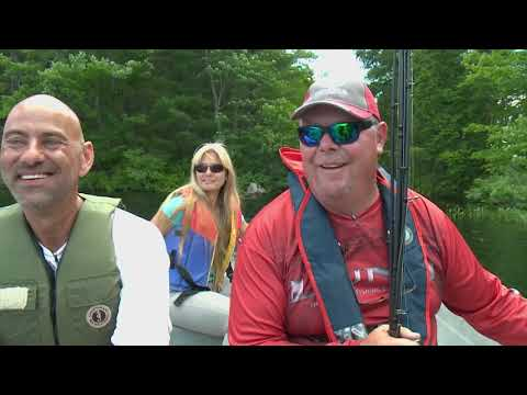Fish TV Crooked Lake Wilderness Lodge 2017