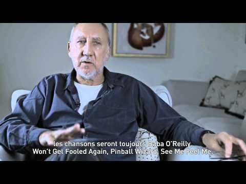 Vidéo de Pete Townshend