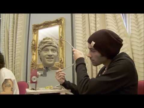 One Direction Wax Figure || Behind The Scenes FULL