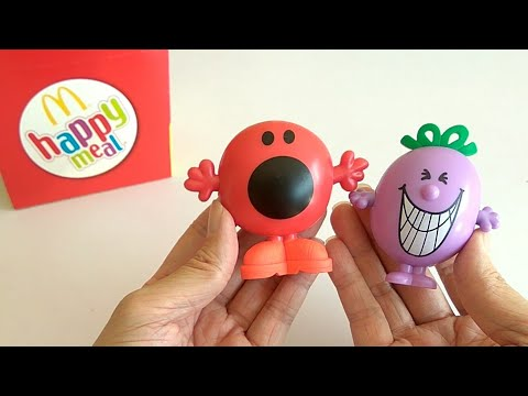 McDonald's Happy Meal Toy: Mr. Noisy & Little Miss Naughty (2017)