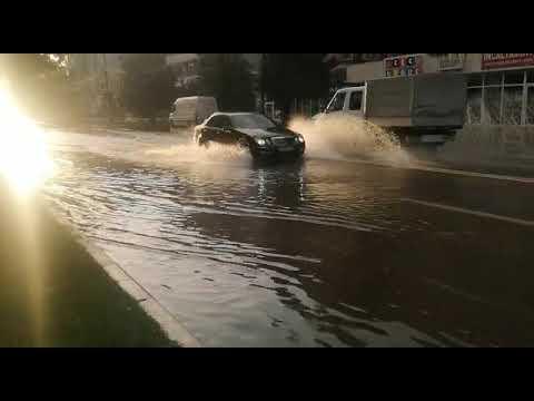 Inundații în municipiul