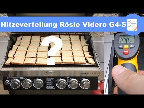 Rösle Gasgrill Videro G6 : Die rÖsle gasgrill bbq station videro g youtube