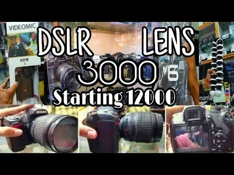 CHEAPEST DSLR MARKET | KOLKATA | INDIA | CHEAP PRICE 10000 OLD | NEW DSLR | GOPRO | METRO GALI DSLR