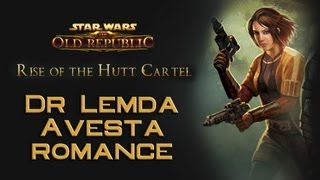 SWTOR: Dr Lemda Avesta romance compilation [Rise of the Hutt Cartel]