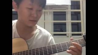 Lại Gần Hôn Anh guitar solo [Mitxi Tòng]
