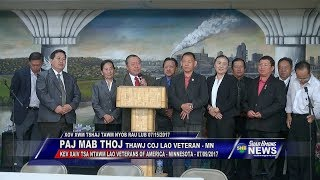 SUAB HMONG NEWS:  Pa Ma Thoj re-elected president for Lao Veterans of Minnesota - 07/09/2017