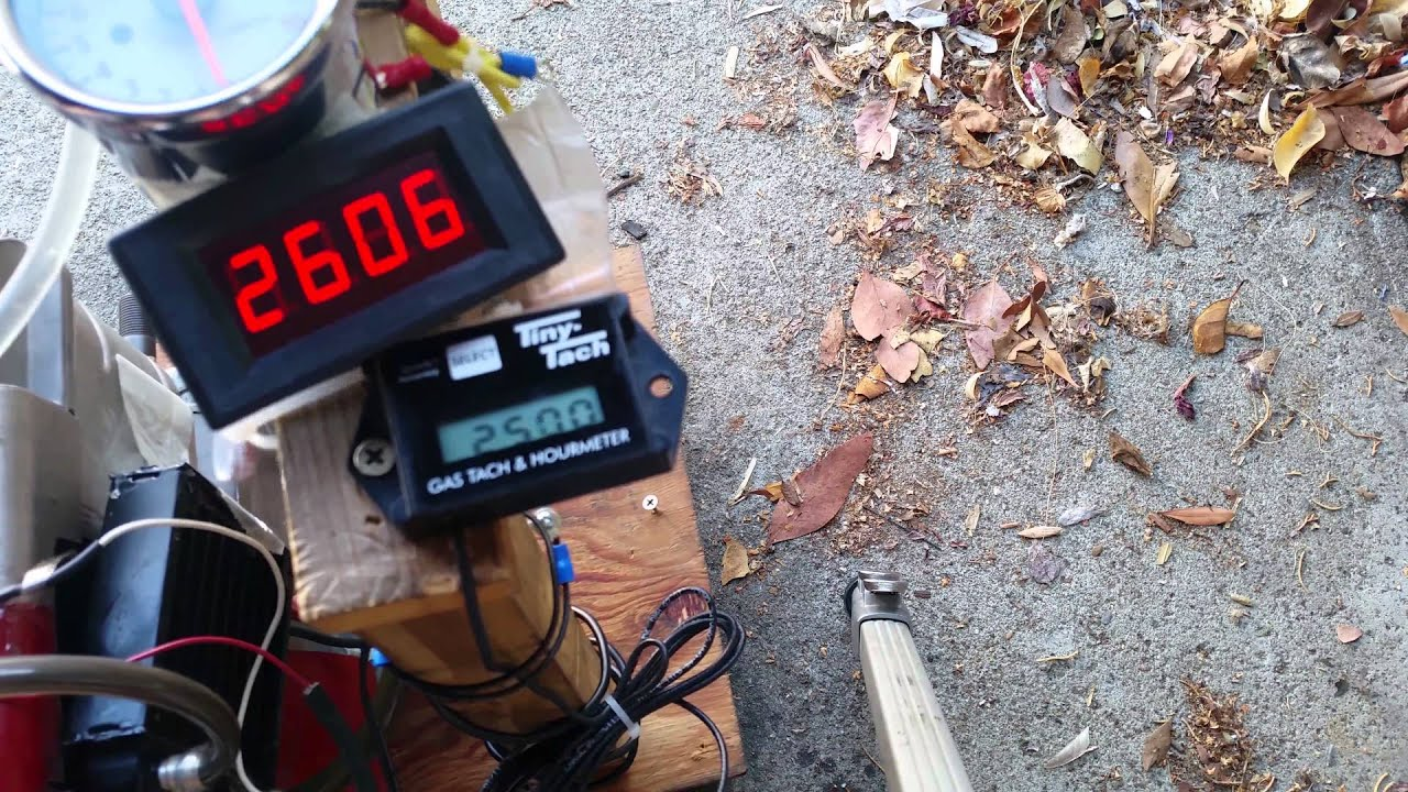 small resolution of 4 led digital tachometer ebay tiny tach briggs 5hp