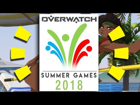 Overwatch - SUMMER GAMES 2018 SKINS & NEW GAME MODE PREDICTIONS!