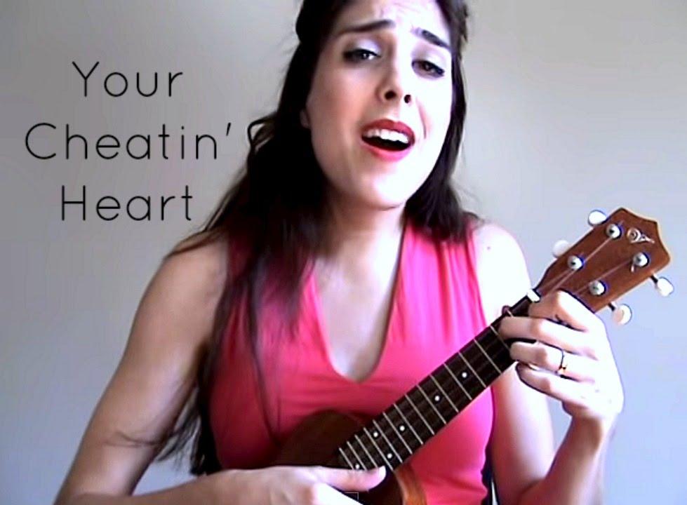 Your Cheatin Heart Hank Williams Cover By Soraiya Ukulele