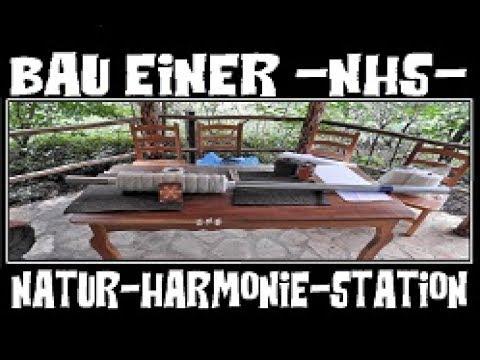 Andreas Pfeifer baut eine Natur Harmonie Station (NHS) - Details zur Himmelsakkupunktur