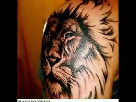 Leo Tattoos Zodiac Lion Designs Youtube