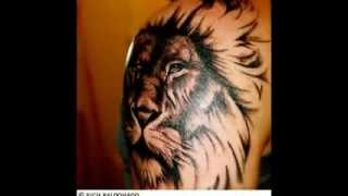 Leo Tattoos - Zodiac Lion Designs