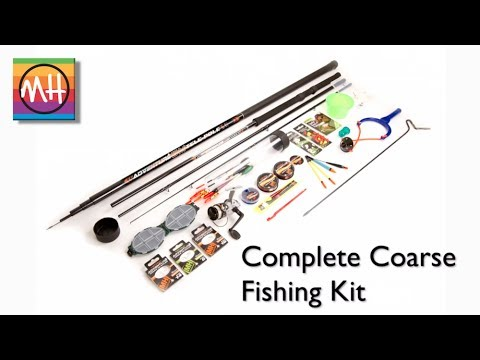 Amazing new complete coarse fishing kit from matt hayes for Fishing starter kit