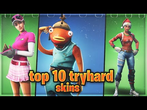 Top 10 Sweaty Tryhard Skins That *PRO* Players Use In Fortnite Chapter 2 |Camowars