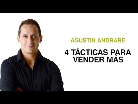 4 Tácticas Para Vender Más / Ft. Agustín Andrade