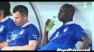 Mario Balotelli Bad Drink Experience in euro cup 2012