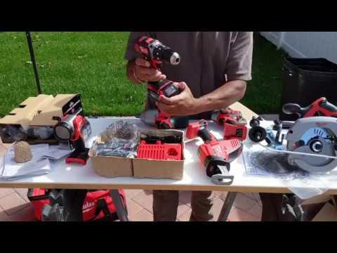 Tool Porn - Milwaukee M18 18-Volt Lithium-Ion Cordless Combo Kit (7-Tool) W/ (1) 5.0Ah,(2)3.0Ah Batt