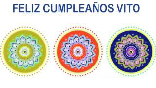 Vito   Indian Designs - Happy Birthday