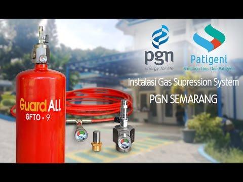 PGN Semarang Instalasi Gas Suppression System