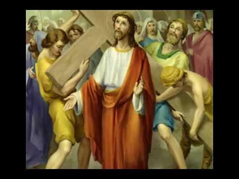 درب الصليب  - Via Crucis - Station of the Cross in Arabic