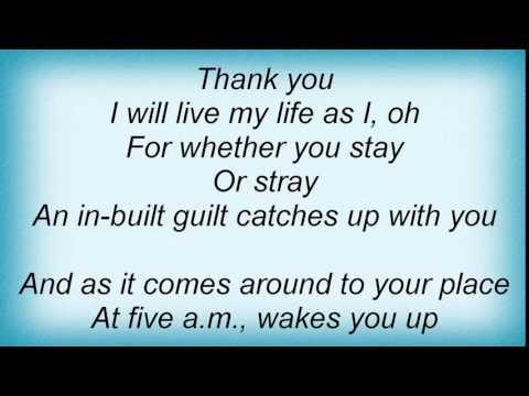 Morrissey - Will Never Marry Lyrics