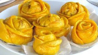 Ferrero Rose Steamed Buns - Recipe #44