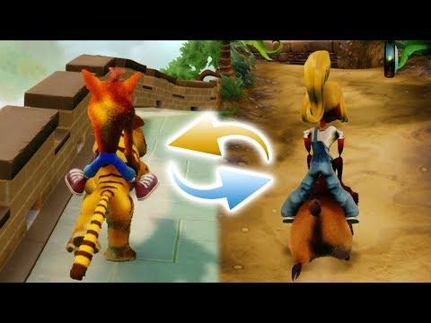 Crash Bandicoot - Opposite Levels Crash and Coco Mod (N. Sane Trilogy)