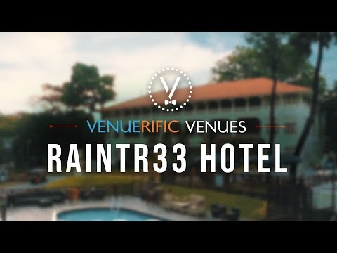 Raintr33 Hotel - Colonial-style Private Event Space in Singapore
