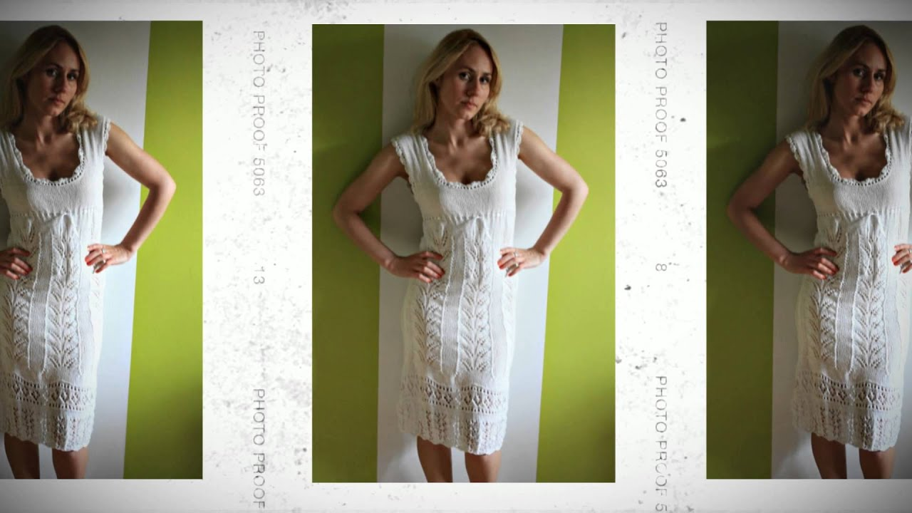 f7177f066f6 Фасоны летних платьев - YouTube