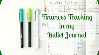 How to track your Finances| Bullet Journal Finances Trackers Ideas | The Boosted Journal