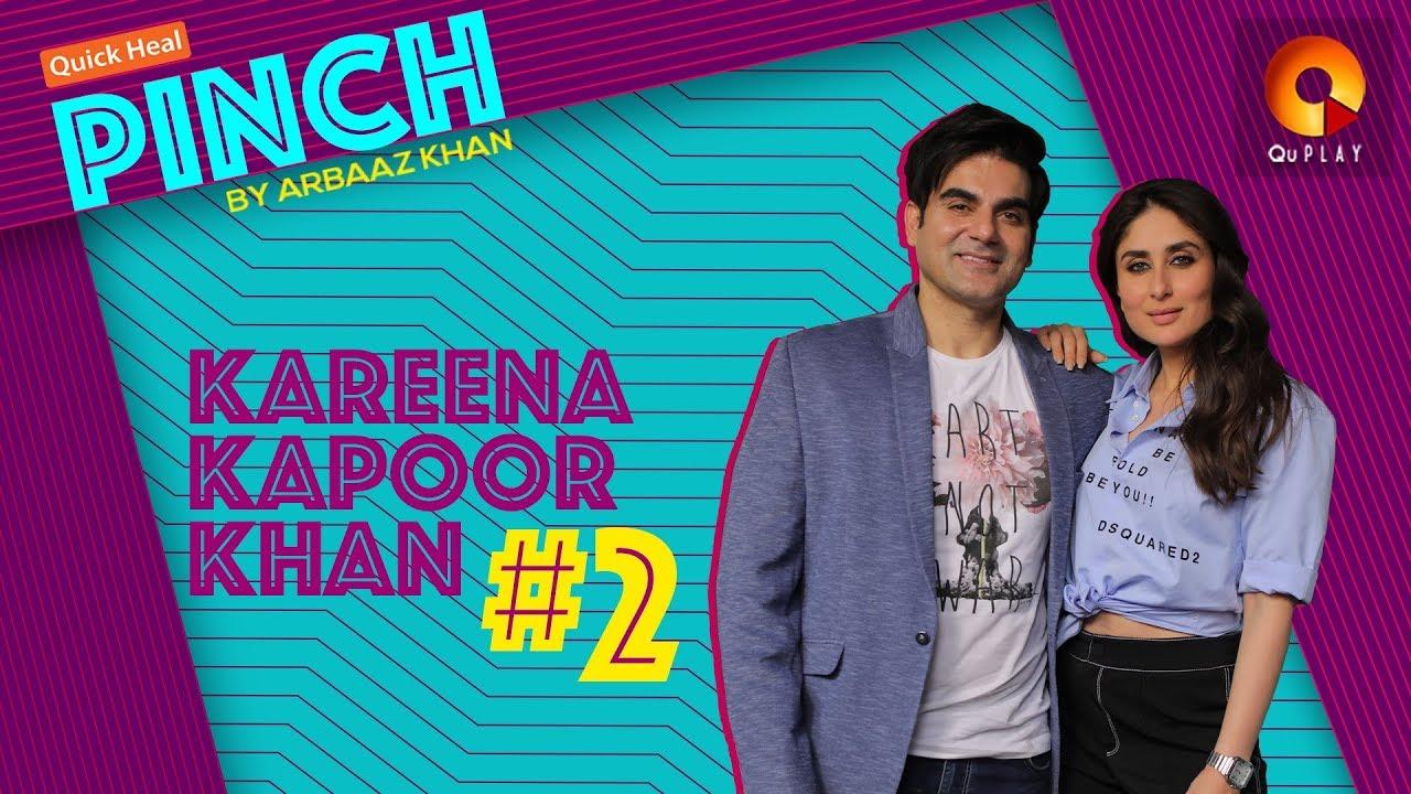 Download Kareena Kapoor Khan Part 2 | Quick Heal Pinch by Arbaaz Khan | QuPlayTV