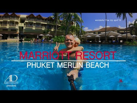 Phuket Marriott Resort&Spa, Merlin Beach - 4K GoPro(Ultra HD)hotel Review - лучший отель на Пхукете