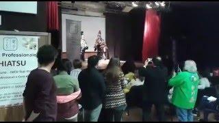 佐見歌舞伎、イタリアピストイア市にて「寿式三番叟披露!」