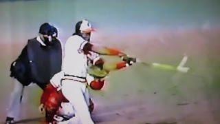 84日米野球 3番リプケン 4番マレー 豪快ホームラン