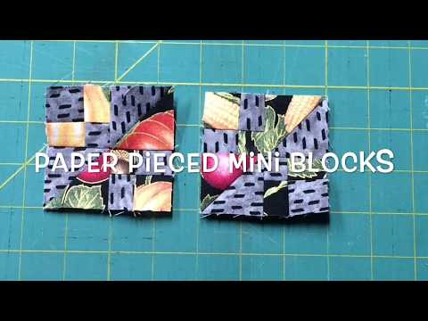 Paper Piece Patchwork with Moda Cupcake Mix Papers #3