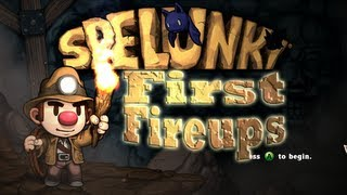 First Fireups: Spelunky (PC/Steam) (First Impressions / Initial Gameplay)