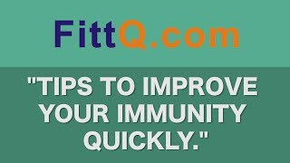 """How to improve the immunity naturally at home."""