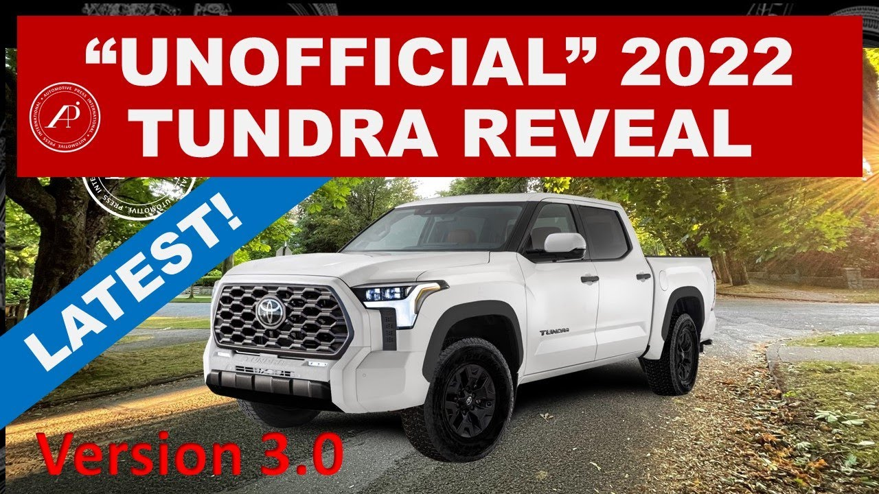 """*LATEST* 2022 TOYOTA TUNDRA REVEAL VIDEO that Toyota should have created! """"Unofficial"""" Video V3.0"""
