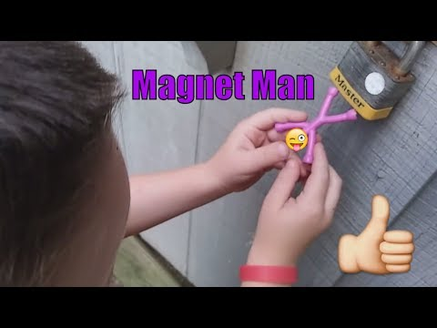magnet-toy-for-kids-(part-2)-what-will-he-stick-to?