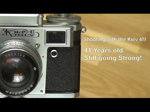 Street Photography - Shooting with the Kiev 4m - Still going Strong!