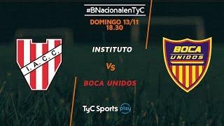 Institute vs Boca Unidos full match