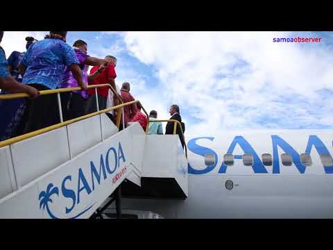 P.M.'s tough message as Samoa Airways launched