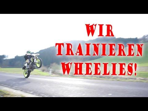 WHEELIE geht fast SCHIEF! | Wheelie-Training | Dual Vlog!