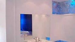 Very upscale bathroom plumbing
