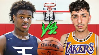 Bronny James VS FaZe Rug! (Intense 1v1)
