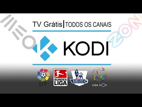 KODI TV PORTUGUESA 2016 - LISTA DE CANAIS PORTUGUESES - SPORTV ; BENFICATV; CANAIS DE FILMES