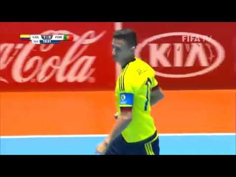 Match 1: Colombia v Portugal - FIFA Futsal World Cup 2016