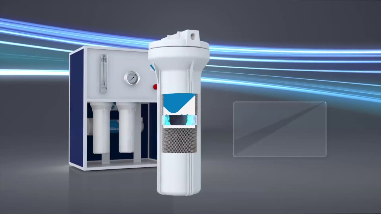 Blue mount small Scale latest Industrail RO with alkaline technology  Filtration process Hindi 3